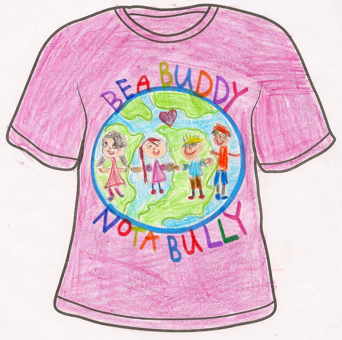 Pink Shirt Day T-Shirt Design Winners – St. Bonaventure's College