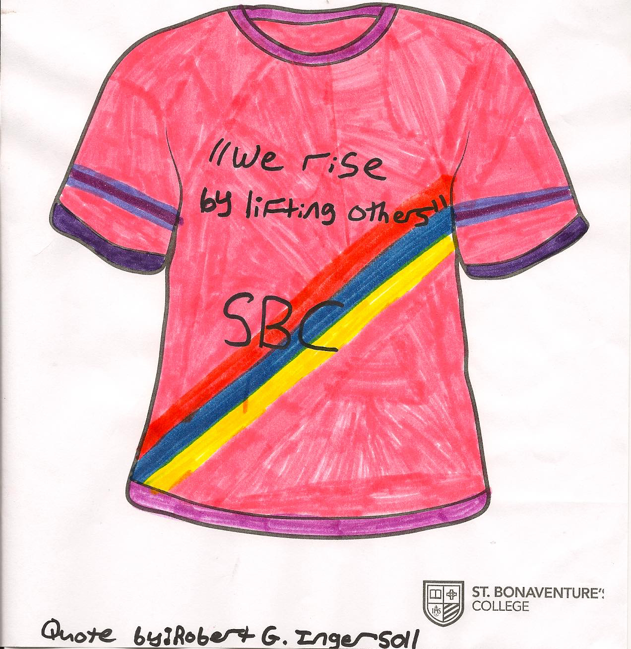 Pink Shirt Day T-Shirt Design Winners – St. Bonaventure's College